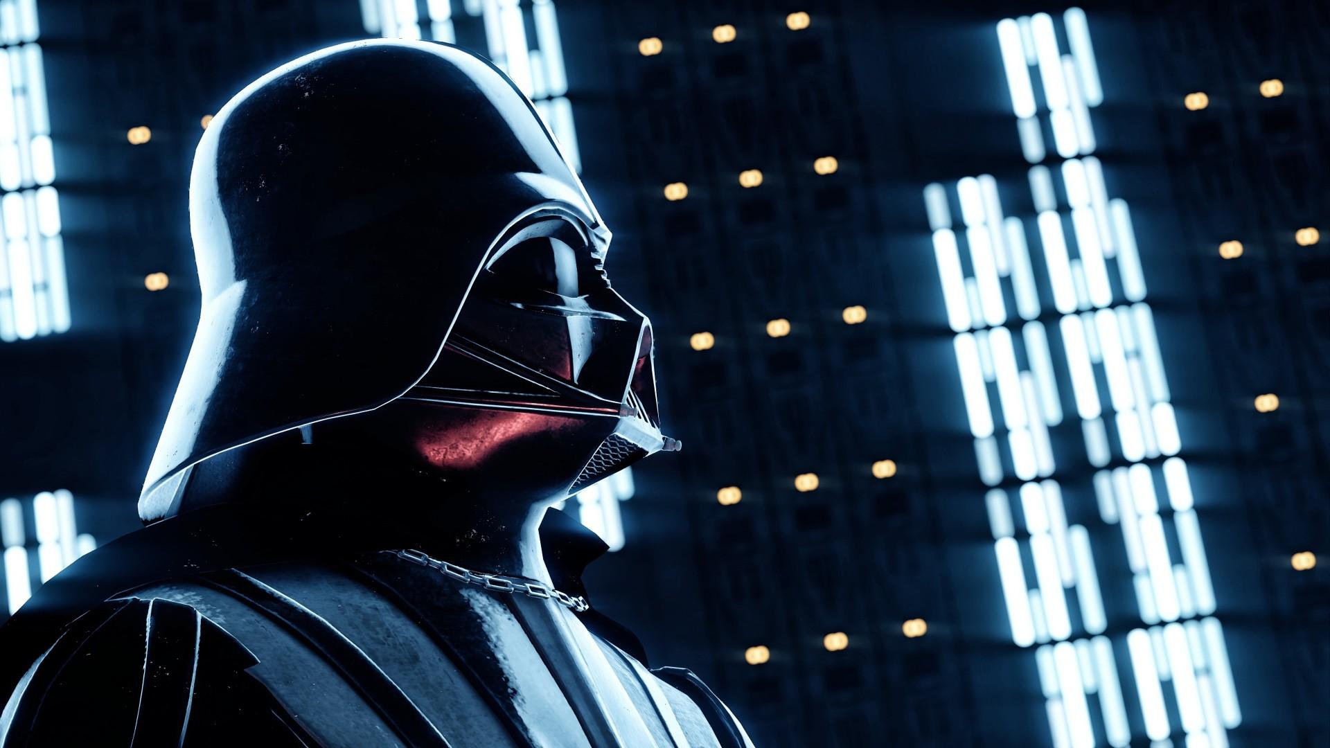 Darth Vader Profile 1920x1080 1080p Wallpaper Thewallpaperkid Com