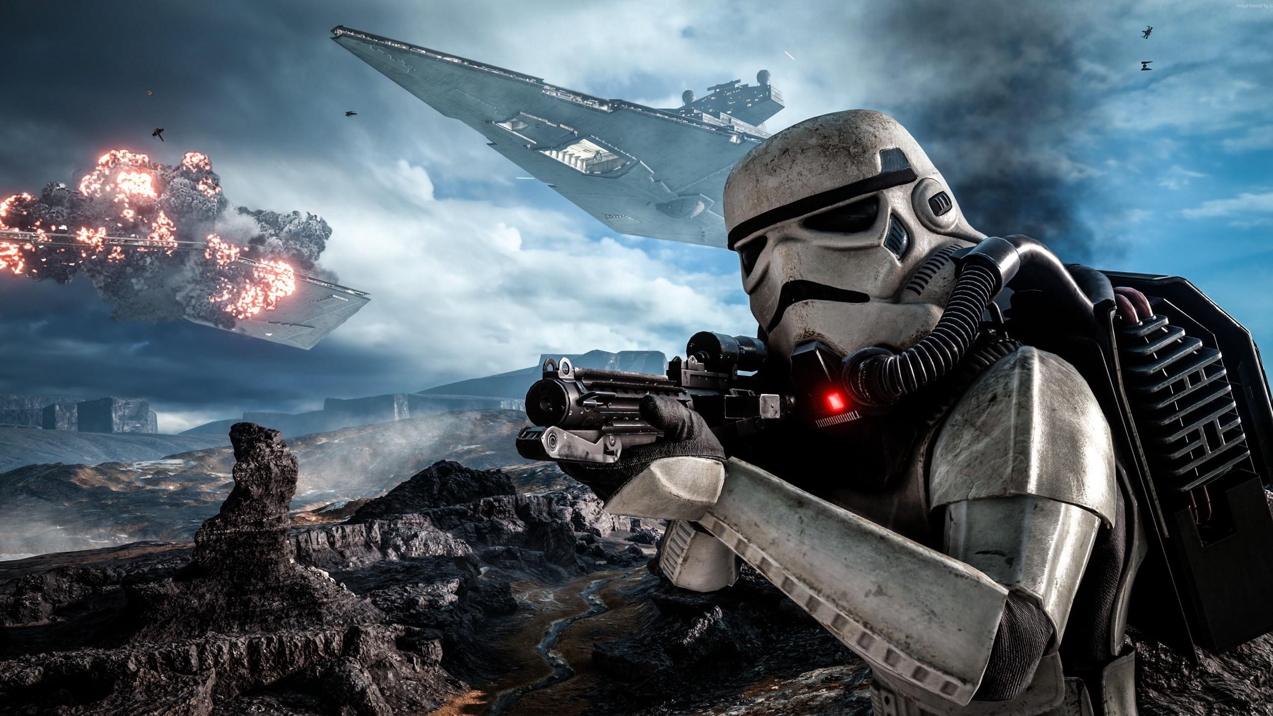 Star Wars Battlefront Art 2 2560x1440 Wallpaper Thewallpaperkid Com