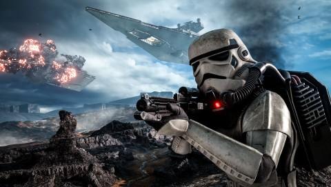 Star Wars Battlefront Art 2 480x272 Psp Wallpaper Thewallpaperkid Com