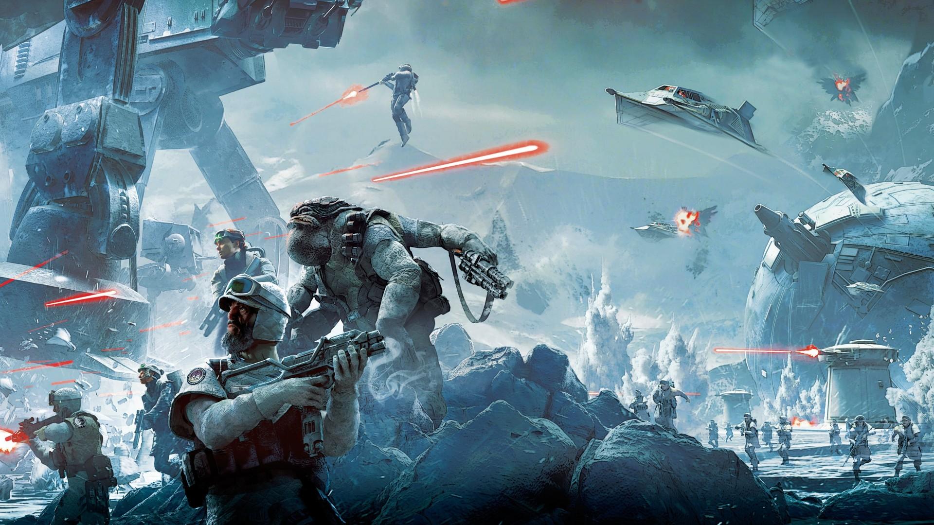 Star Wars Battlefront Art 4 1920x1080 1080p Wallpaper Thewallpaperkid Com