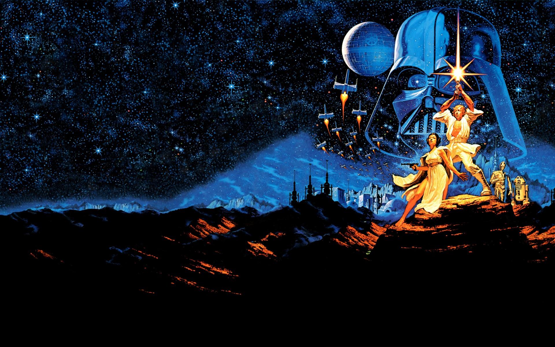 Star Wars Iv Comic 1920x1200 Wallpaper Thewallpaperkid Com